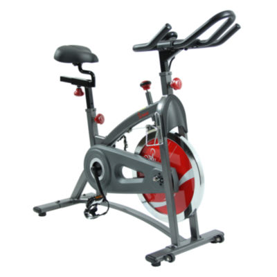Sunny Health & Fitness SF-B1423 Belt Drive Indoor Cycling Exercise Bike w/ LCD Monitor