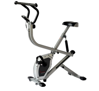 Sunny Health & Fitness SF-B2620 2-in-1 Folding Rowing Machine Upright Exercise Bike