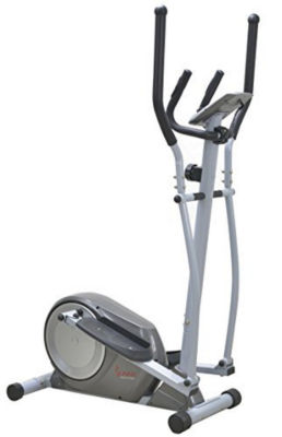 Sunny Health & Fitness SF-E3609 Magnetic Elliptical Trainer Elliptical Machine w/ LCD Monitor and Heart Rate Monitoring