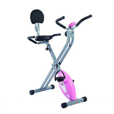 Sunny Health & Fitness Magnetic Folding Recumbent Exercise Bike, 220lb Capacity - SF-RB1117