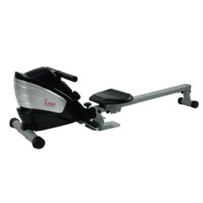 Sunny Health & Fitness SF-RW5622 Dual Function Magnetic Rowing Machine Rower w/ LCD Monitor
