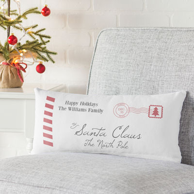 Cathy's Concepts Personalized Letter to Santa Pillow