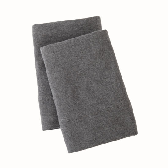 Great Bay Home Heathered Super Soft Jersey Knit Sheet Set