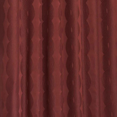Eclipse Adalyn Blackout Rod-Pocket Curtain Panel