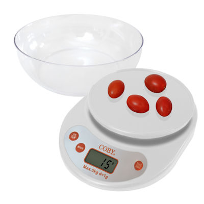 EDM Imports COBY Digital Compact Essental Kitchen Scale