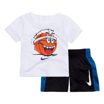 Nike 2-pc. Short Set-Toddler Boys