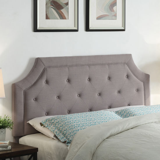 FirsTime® Kelsey Linen Upholstered Tufted Headboard