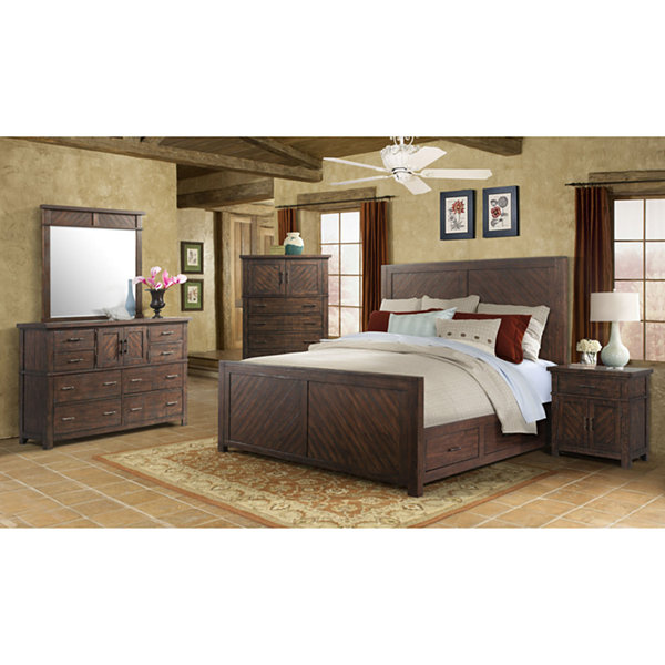 Montana Storage 5-Piece Bedroom Set - JCPenney