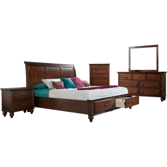 Newport Storage 5-Piece Bedroom Set