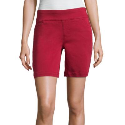 "Liz Claiborne 7"" Pull On Shorts"