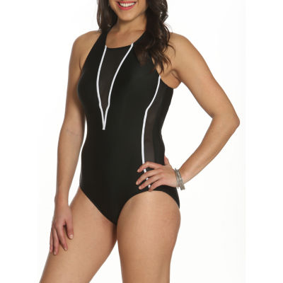 Sun and Sea Starboard Mesh One Piece Swimsuit