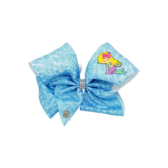 JoJo Siwa Signature Blue Mermaid Bow