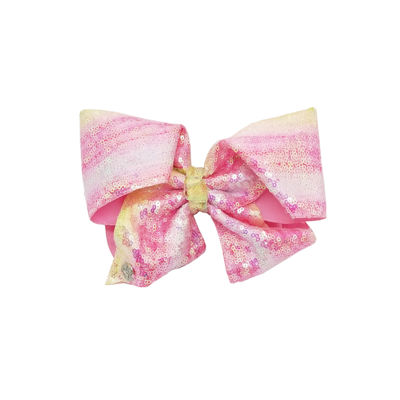 JoJo Siwa Signature Light Pink Ombre Sequin Bow