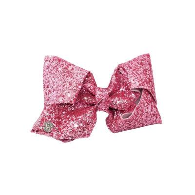 JoJo Siwa Signature Pink Sugar Glitter Bow