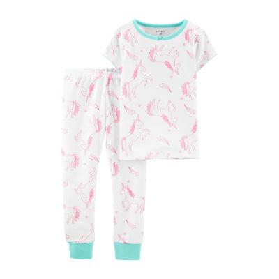 Carter's 2-pc. Pant Pajama Set Girls