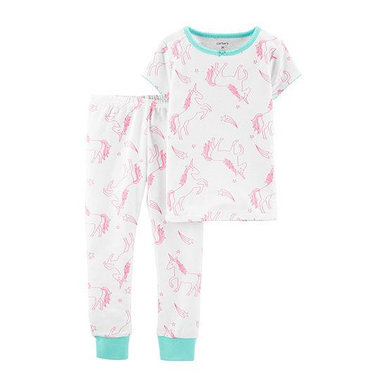 Carter's Girls 2-pc. Pant Pajama Set Baby