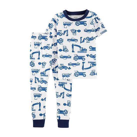 Carters 2 Pc Pant Pajama Set Baby Boys
