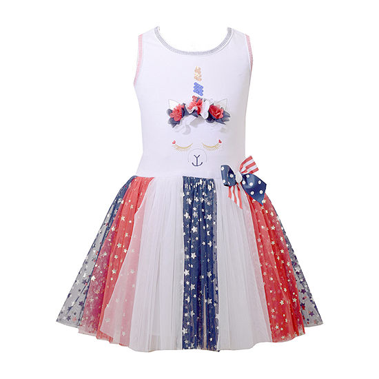Bonnie Jean Girls Sleeveless Tutu Dress - Preschool / Big Kid