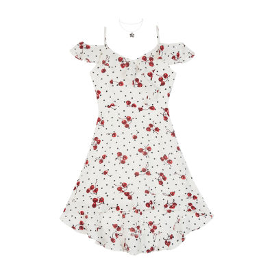 by&by girl Sleeveless Dots A-Line Dress Girls