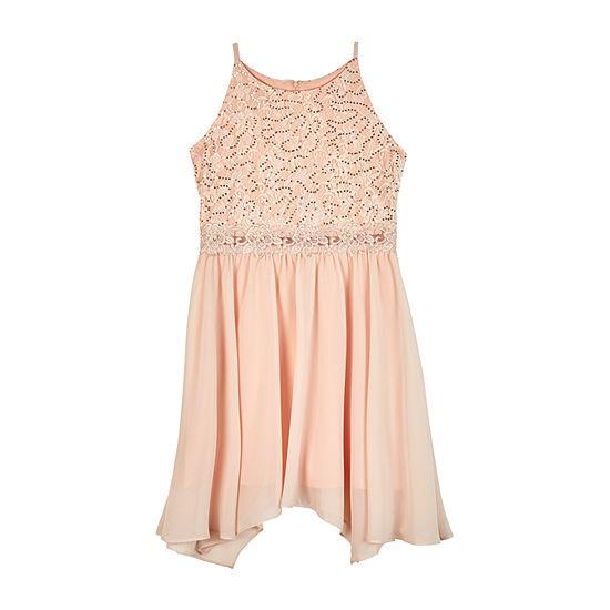 by&by girl - Big Kid Girls Sleeveless A-Line Dress