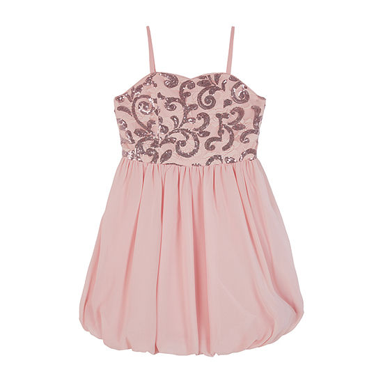 by&by girl Girls Sleeveless Party Dress - Big Kid