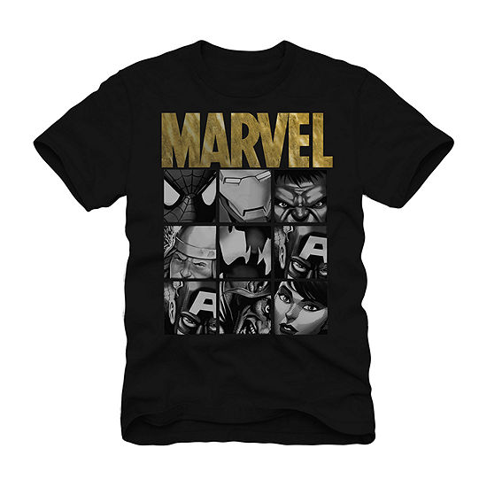 Mens Marvel Graphic T-Shirt