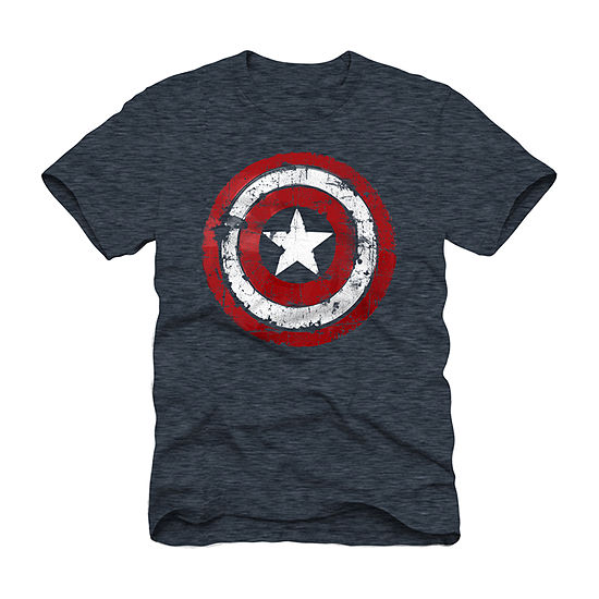 Mens Captain America Graphic T-Shirt