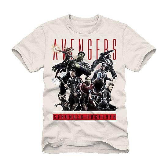 Mens Avengers Graphic T-Shirt