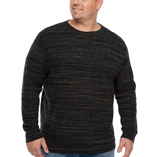 7321f6d175cff The Foundry Big   Tall Supply Co. Mens Crew Neck Long Sleeve Thermal ...