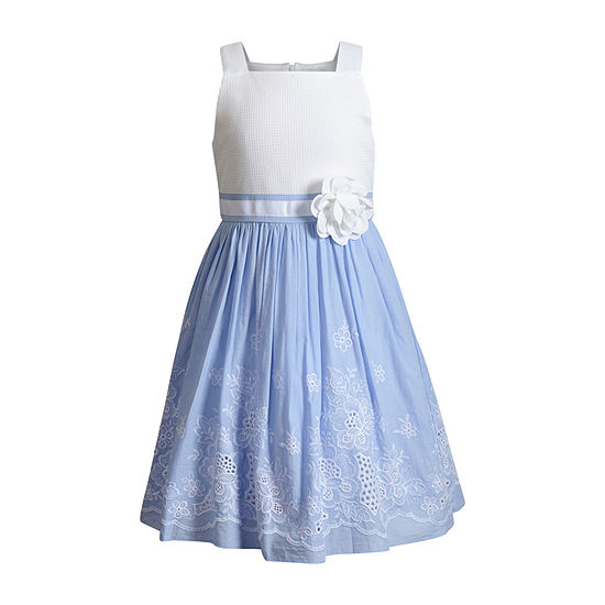 Emily West - Little Kid / Big Kid Girls Sleeveless Skater Dress
