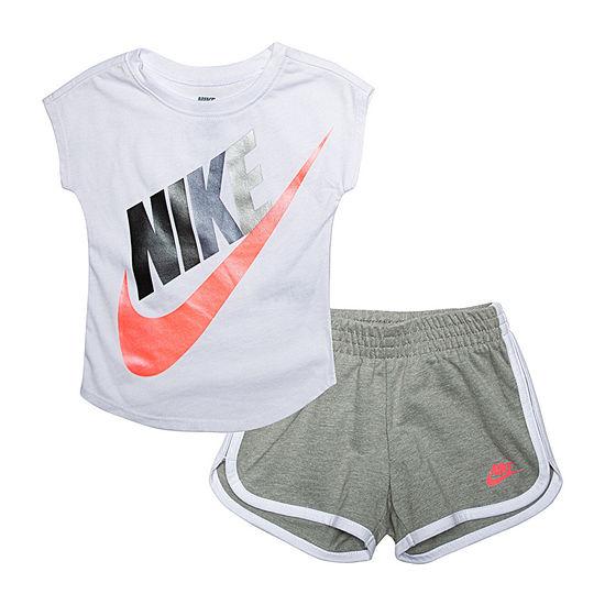 Nike Girls 2-pc. Short Set Toddler