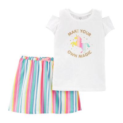 Carter's Girls 2-pc. Skirt Set Preschool / Big Kid