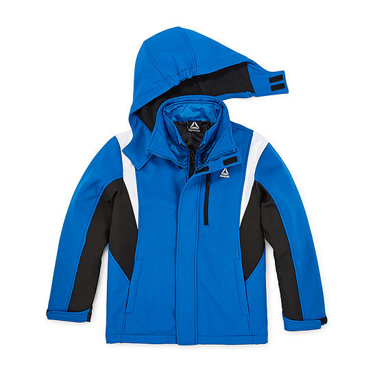Reebok Little & Big Boys Hooded Water Resistant Heavyweight 3-In-1 System Jacket