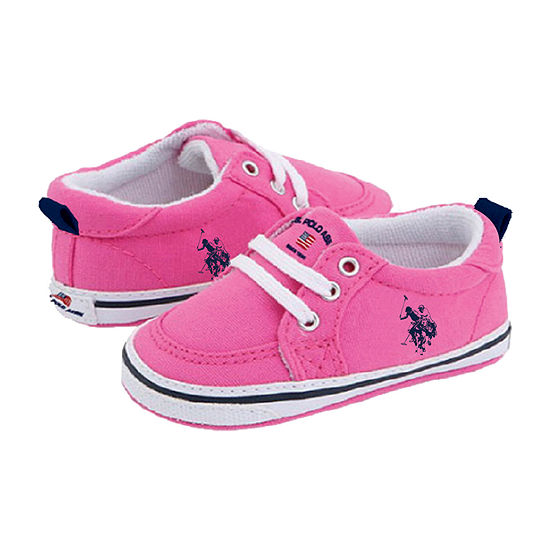U.S. Polo Assn. Canvas Girls Slip-On Shoe