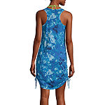 City Streets Womens Dress Swimsuit Cover-Up Juniors