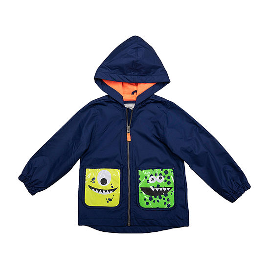 Carter's Baby Boys Hooded Midweight Raincoat
