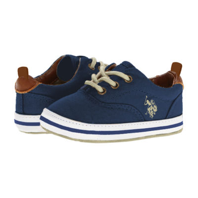 U.S. Polo Assn. Canvas Boys Slip-On Shoe
