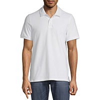 JCPenney deals on St. Johns Bay Premium Stretch Mens Short Sleeve Polo Shirt