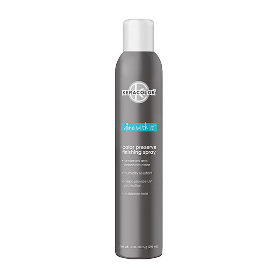 Keracolor Done With It Finishing Medium Hold Hair Spray-10 oz.