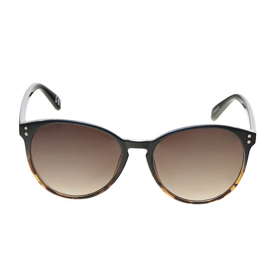 a.n.a Small Plastic Round With Keyhole Womens Sunglasses