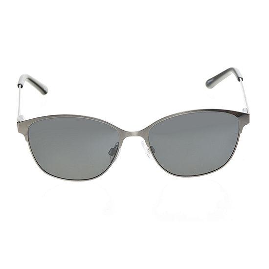 Foster Grant Square Metal Womens Sunglasses