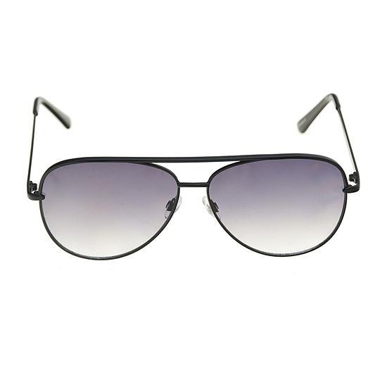 Worthington Matte Metal Aviator Womens Sunglasses