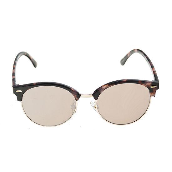 Worthington Small Round Club Womens Sunglasses