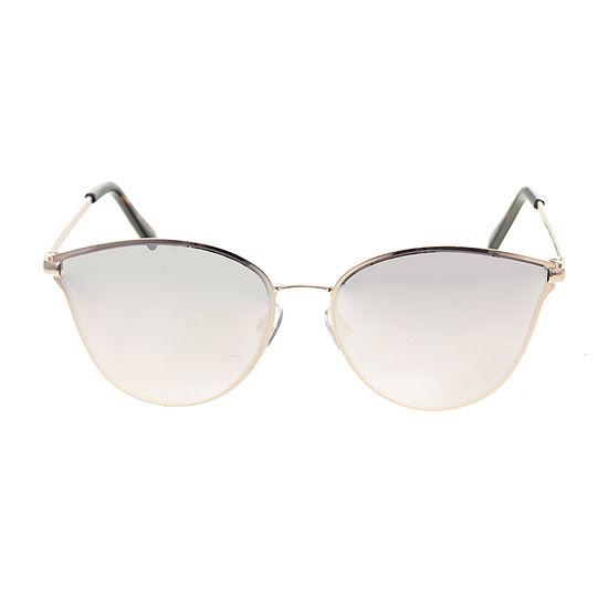 Worthington Metal Small Cateye Womens Sunglasses