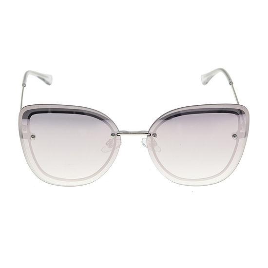 Worthington Metal Medium Flat Butterfly Womens Sunglasses