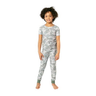 Jaclyn Camo Family Sleepwear Big Unisex 2-pc. Pajama Set