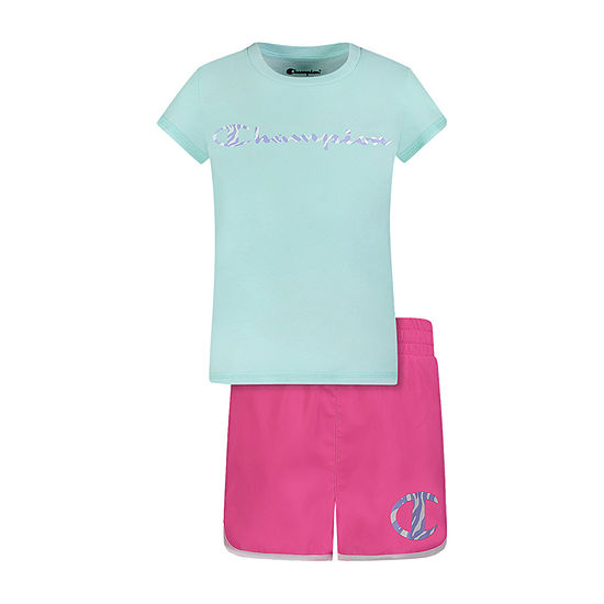 Champion Little Girls 2-pc. Short Set
