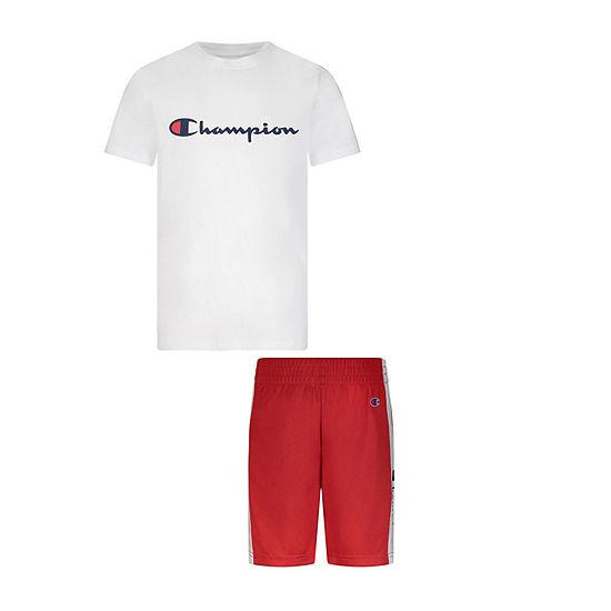 Champion Little Boys 2-pc. Short Set