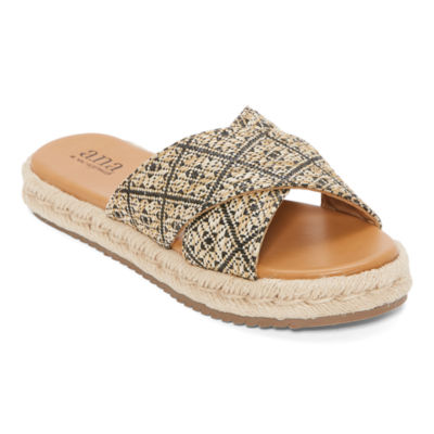 a.n.a Womens Berkely Slide Sandals