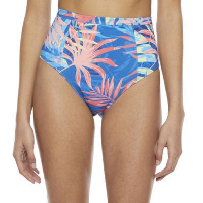 Peyton & Parker Family Swim Leaf High Waist Bikini Swimsuit Bottom